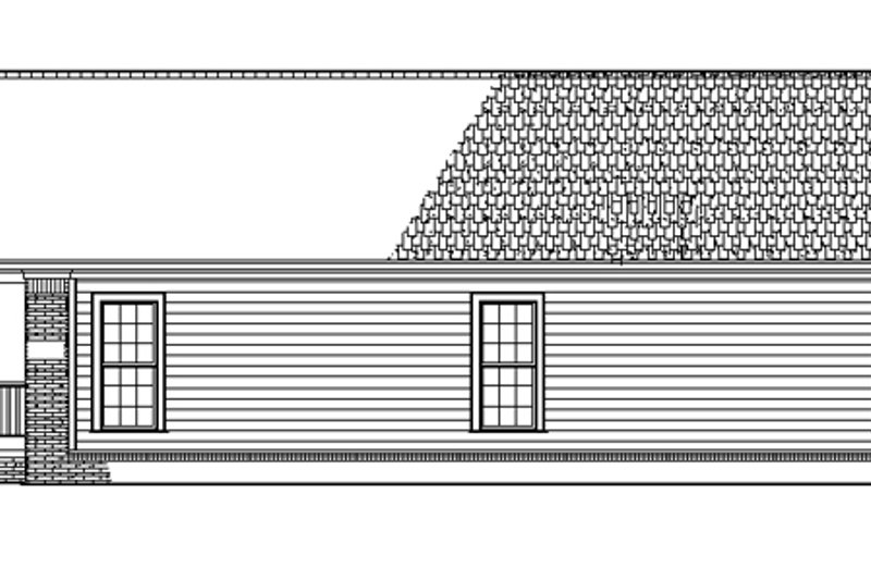 Craftsman Exterior - Other Elevation Plan #17-2751 - Houseplans.com