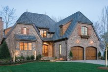 House Plan Design - European Exterior - Front Elevation Plan #453-606