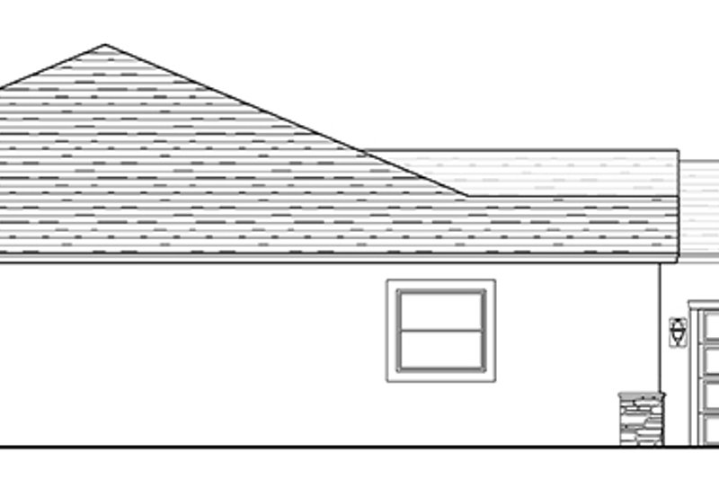 Mediterranean Exterior - Other Elevation Plan #1058-127 - Houseplans.com