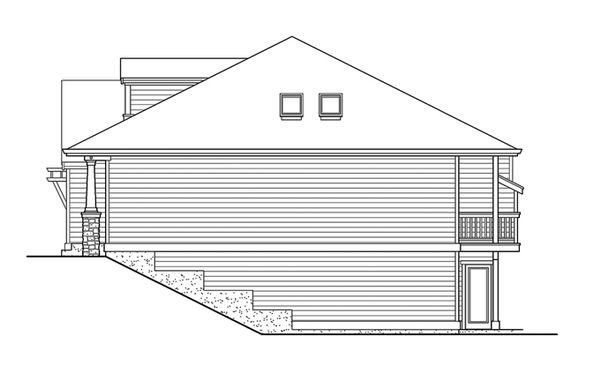 Craftsman Floor Plan - Other Floor Plan Plan #132-341