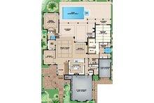 Country Floor Plan - Main Floor Plan Plan #1017-157