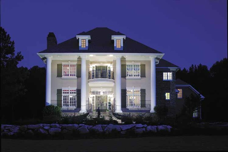 Architectural House Design - Colonial Exterior - Front Elevation Plan #930-220