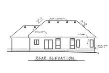 Ranch Exterior - Rear Elevation Plan #20-2294