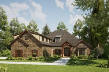 Architectural House Design - Craftsman Exterior - Front Elevation Plan #923-168