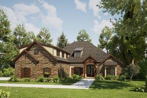 Craftsman Exterior - Front Elevation Plan #923-168