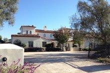 Dream House Plan - Mediterranean Exterior - Front Elevation Plan #484-8