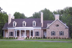 Architectural House Design - Classical Exterior - Front Elevation Plan #137-127