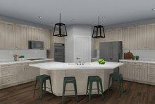 Ranch Interior - Kitchen Plan #1060-30