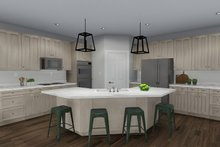 Architectural House Design - Ranch Interior - Kitchen Plan #1060-30