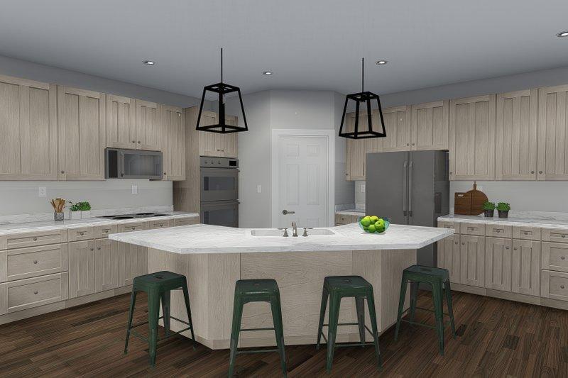 Home Plan - Ranch Interior - Kitchen Plan #1060-30