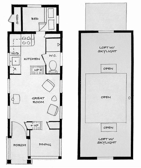 Cottage Floor Plan - Main Floor Plan Plan #896-6