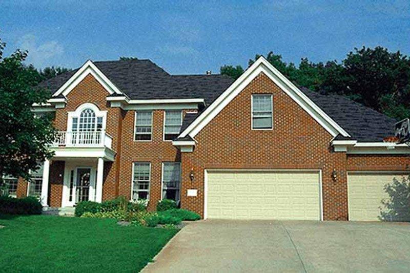 Classical Exterior - Front Elevation Plan #51-950 - Houseplans.com