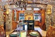 Mediterranean Style House Plan - 3 Beds 2.5 Baths 2909 Sq/Ft Plan #930-70 Interior - Kitchen