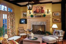 House Plan Design - Colonial Interior - Family Room Plan #429-327