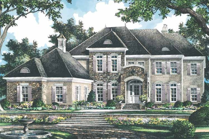 Country Exterior - Front Elevation Plan #952-186 - Houseplans.com