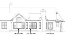 Craftsman Exterior - Rear Elevation Plan #119-369