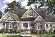 Craftsman Style House Plan - 4 Beds 3 Baths 2569 Sq/Ft Plan #929-953 Exterior - Front Elevation