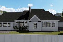 Dream House Plan - European Exterior - Rear Elevation Plan #1060-75