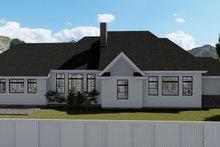 Dream House Plan - European Exterior - Rear Elevation Plan #1060-75