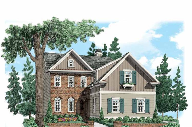 Traditional Exterior - Front Elevation Plan #927-534 - Houseplans.com