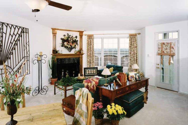 Classical Interior - Family Room Plan #46-748 - Houseplans.com