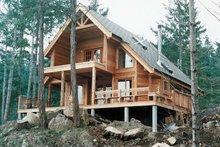 House Plan Design - Cabin Exterior - Front Elevation Plan #118-102