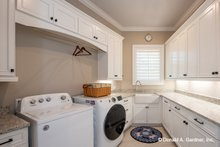Home Plan - Country Interior - Laundry Plan #929-1006