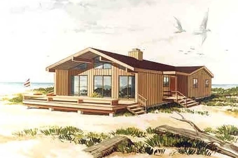 Contemporary Exterior - Front Elevation Plan #314-269 - Houseplans.com