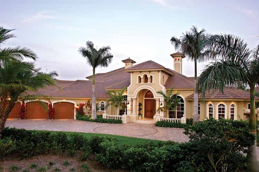 Mediterranean style house plan 5 beds 5 5 baths 4403 sq for Eplan login