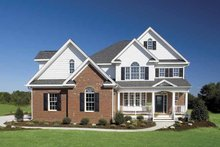 Dream House Plan - Country Exterior - Front Elevation Plan #929-657
