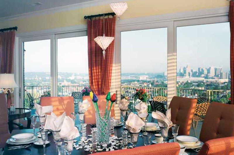 European Interior - Dining Room Plan #46-757 - Houseplans.com