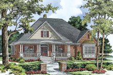Architectural House Design - Ranch Exterior - Front Elevation Plan #929-758