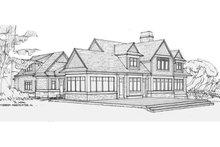 House Plan Design - Craftsman Exterior - Rear Elevation Plan #928-254