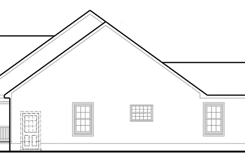 Country Exterior - Other Elevation Plan #1053-75 - Houseplans.com