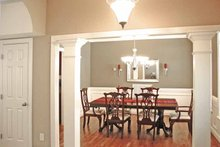 Country Interior - Dining Room Plan #314-232