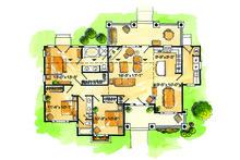 Country Floor Plan - Main Floor Plan Plan #942-27
