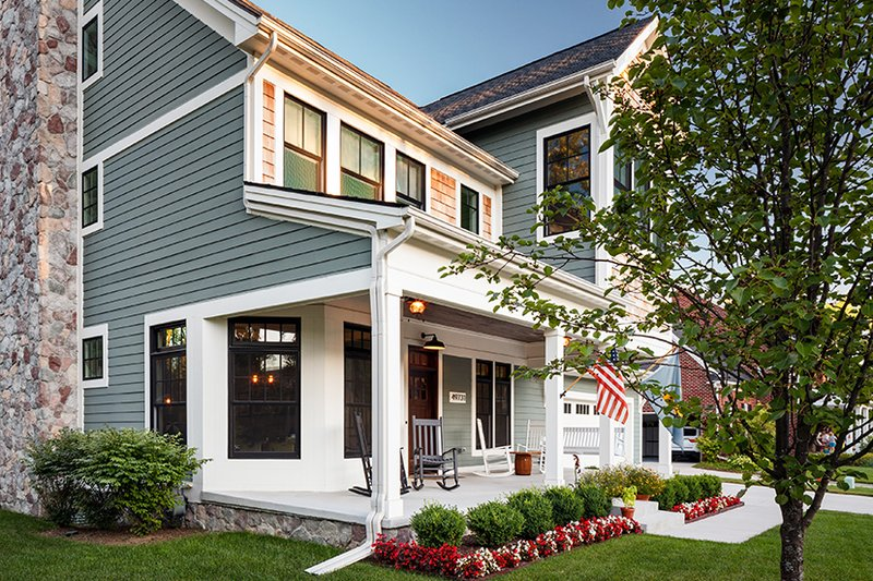 Traditional Exterior - Other Elevation Plan #928-299 - Houseplans.com