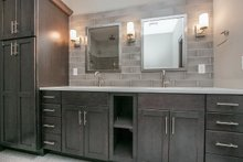 Dream House Plan - Ranch Interior - Master Bathroom Plan #70-1482