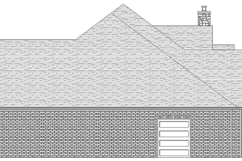 Craftsman Exterior - Other Elevation Plan #1057-6 - Houseplans.com