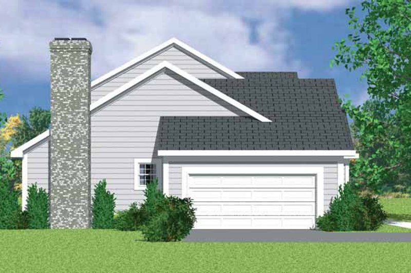 Traditional Exterior - Other Elevation Plan #72-1071 - Houseplans.com
