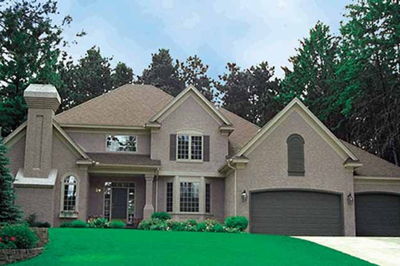 Traditional Exterior - Front Elevation Plan #51-944 - Houseplans.com