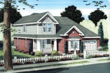 House Plan Design - Traditional Exterior - Front Elevation Plan #513-2109