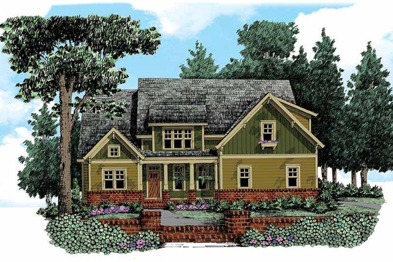 House Plan Design - Craftsman Exterior - Front Elevation Plan #927-339