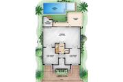 Beach Style House Plan - 5 Beds 5.5 Baths 9075 Sq/Ft Plan #27-456 Floor Plan - Main Floor Plan