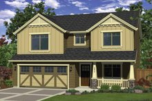 Craftsman Exterior - Front Elevation Plan #943-24