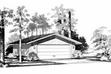 Traditional Exterior - Front Elevation Plan #72-240