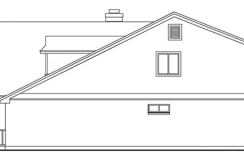 Country Exterior - Other Elevation Plan #472-384 - Houseplans.com