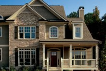 House Plan Design - Country Exterior - Front Elevation Plan #927-869