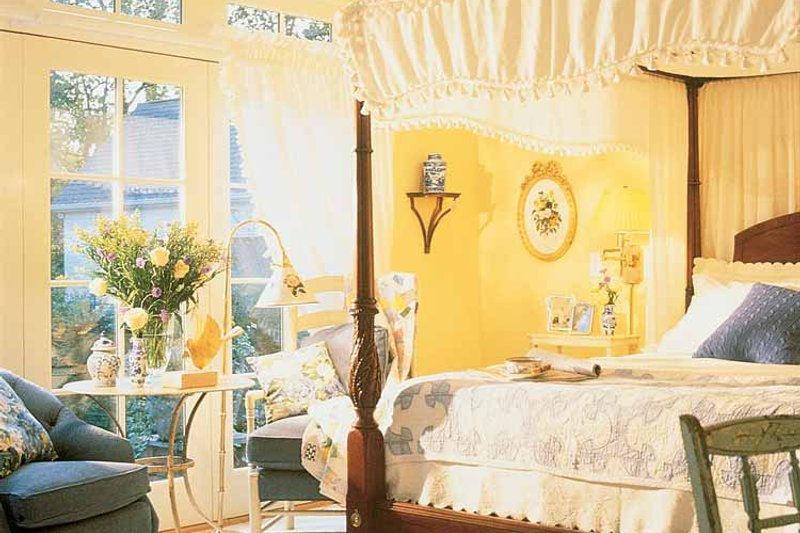 Country Interior - Bedroom Plan #429-308 - Houseplans.com