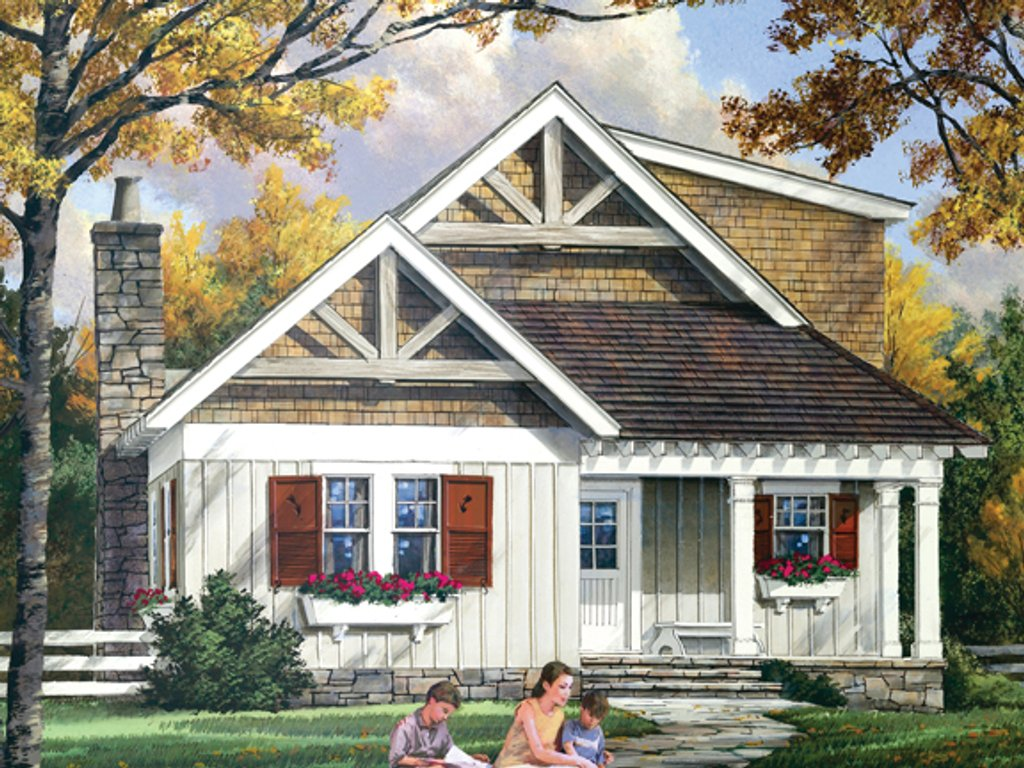 Craftsman style house plan 3 beds 2 5 baths 1765 sq ft for Craftsman style bed plans